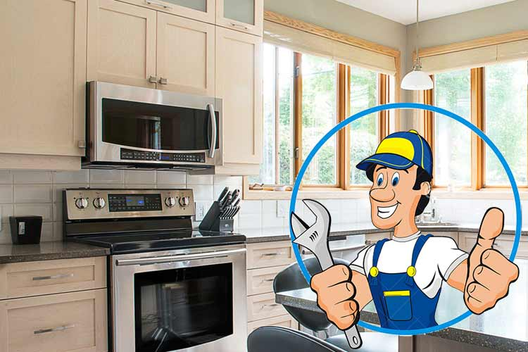Home appliance repair free diagnostics